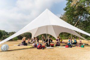 Yoga Kamp Ommen impressie