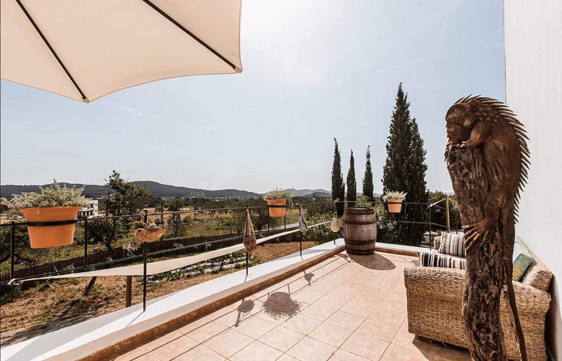 Balkon Can Rosa - Ibiza yoga retreat