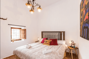 Slaapkamer Can Rosa Ibiza