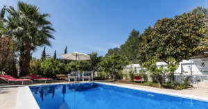 Zwembad Can Rosa Ibiza