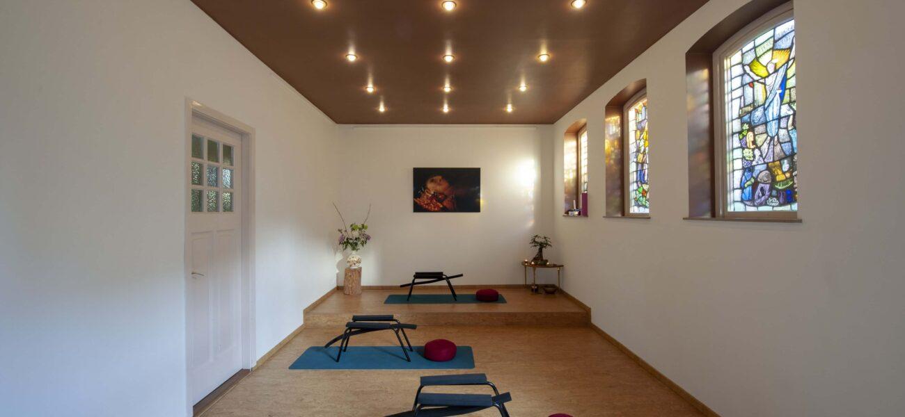 yoga studio vooraanzicht