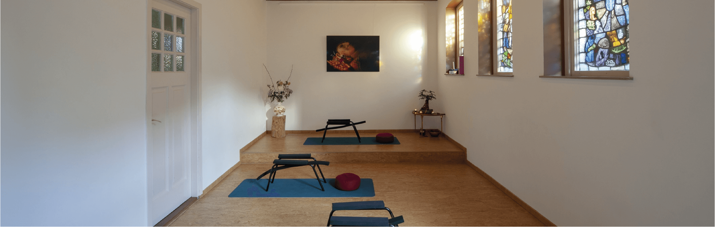 Impressie foto yoga studio